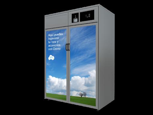 armario de ozono para desinfectar ropa