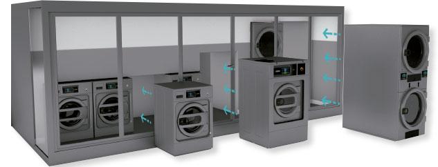 montar lavanderia