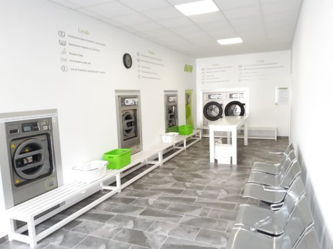 Higiene en lavanderías autoservicio