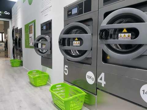 venta de maquinaria para lavandería autoservicio