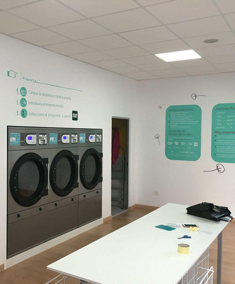 Nueva lavander a autoservicio domus marin pontevedra for Lavanderia self service catania